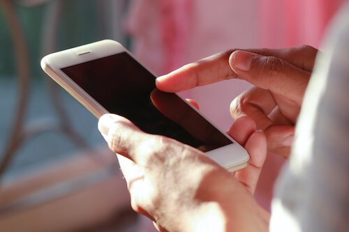 Mass notification text message